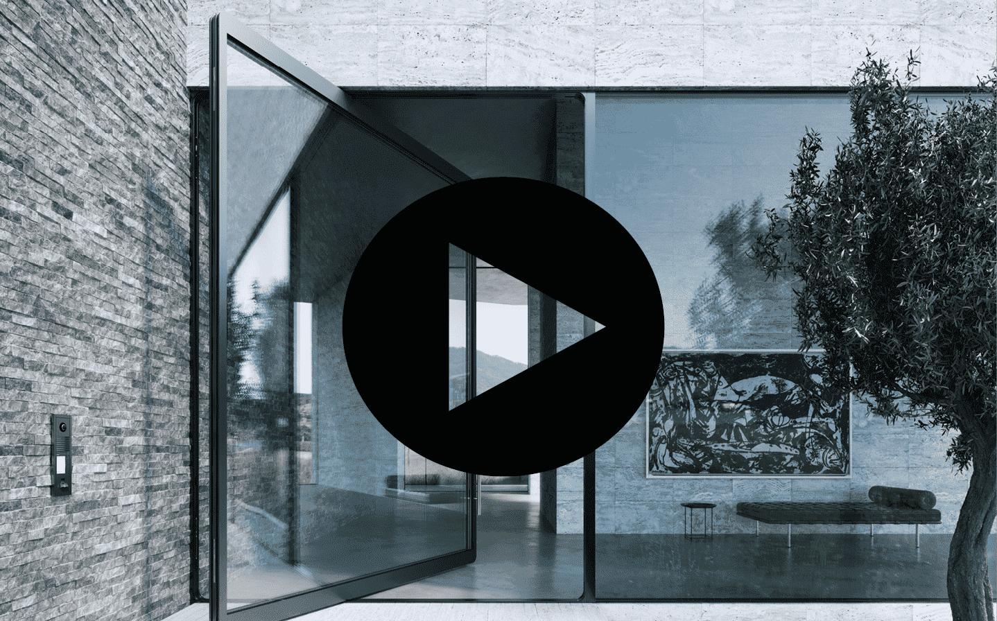 Pivotové vchodové dveře-pivotové dveře